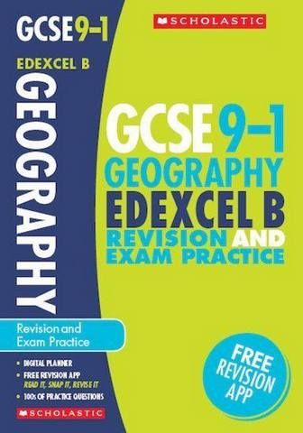Geography Revision and Exam Practice Book for Edexcel B - Lindsay Frost