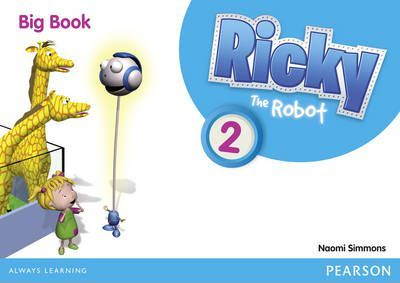 Ricky The Robot 2 Big Book - Naomi Simmons