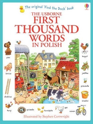First Thousand Words in Polish - Heather Amery