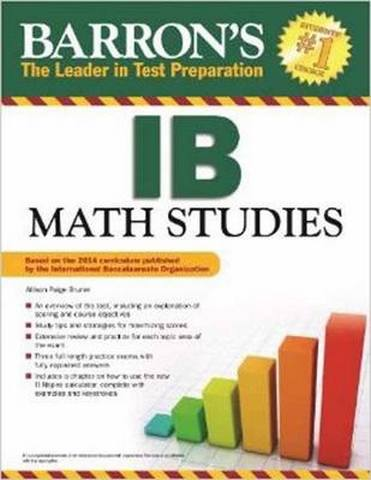 Barron's IB Math Studies - Allison Paige Bruner