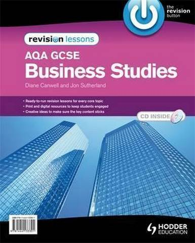 AQA GCSE Business Studies Revision Lessons + CD - Diane Canwell