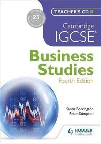 Cambridge IGCSE Business Studies 4th edition - Karen Borrington