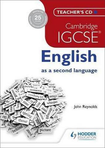 Cambridge IGCSE English as a second language Teacher's CD - John Reynolds
