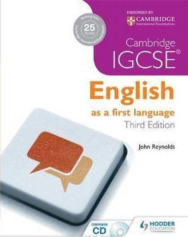 Cambridge IGCSE English First Language 3ed + CD - John Reynolds