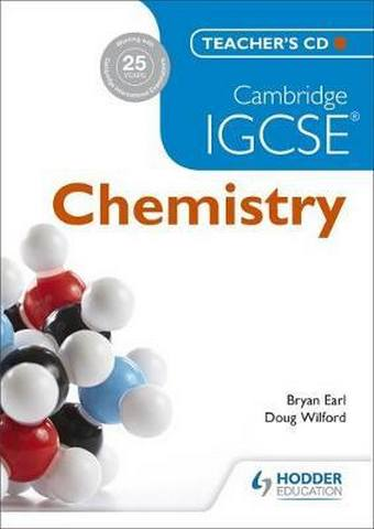 Cambridge IGCSE Chemistry Teacher's CD - Bryan Earl