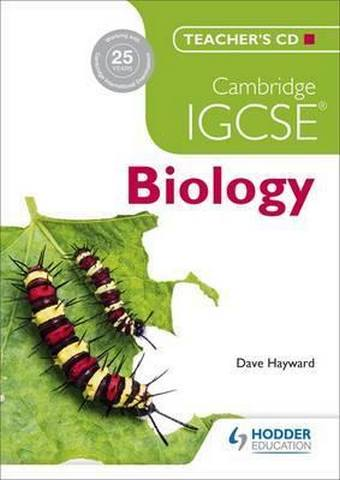 Cambridge IGCSE Biology Teacher's CD - D. G. Mackean