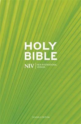 NIV Schools Hardback Bible - New International Version