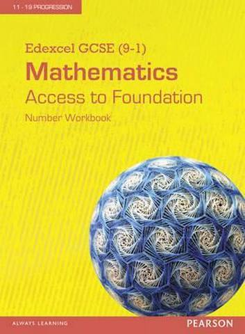 Edexcel GCSE (9-1) Mathematics - Access to Foundation Workbook: Number (Pack of 8) -