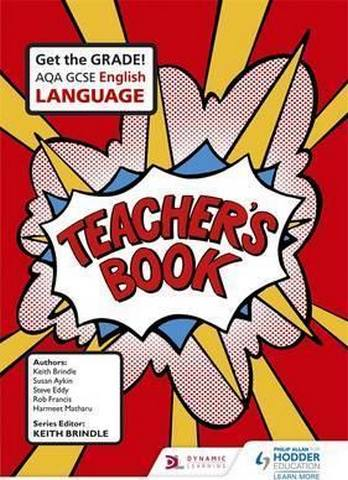 AQA GCSE English Language Teacher's Book: AQA GCSE Eng Lang TB - Keith Brindle