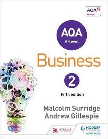 AQA Business for A Level 2 - Malcolm Surridge