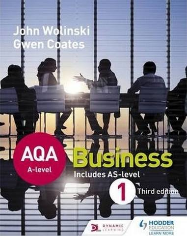 AQA A Level Business 1 Third Edition (Wolinski & Coates) - John Wolinski