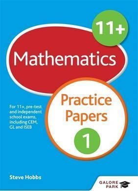 11+ Maths Practice Papers 1: For 11+