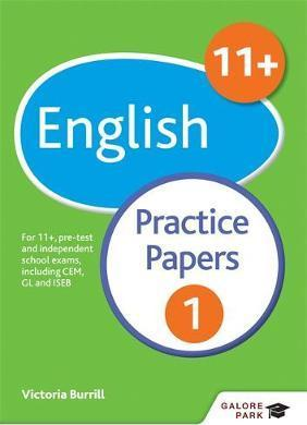 11+ English Practice Papers 1: For 11+