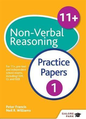11+ Non-Verbal Reasoning Practice Papers 1: For 11+