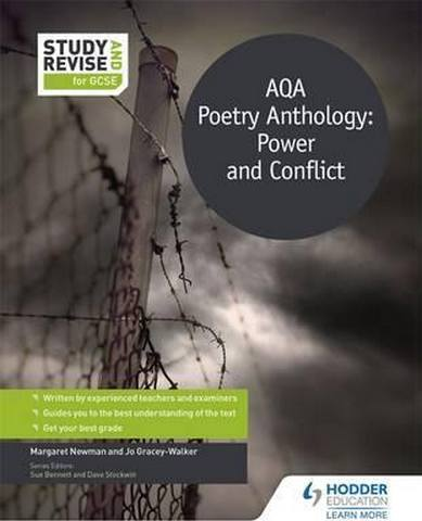 Study and Revise for GCSE: AQA Poetry Anthology: Power and Conflict - Margaret Newman