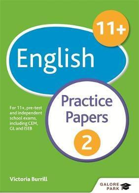 11+ English Practice Papers 2: For 11+