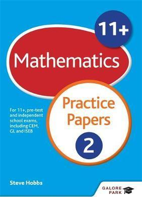11+ Maths Practice Papers 2: For 11+