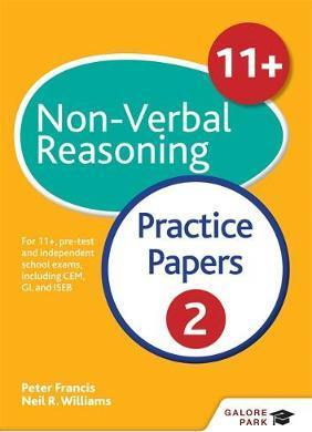 11+ Non-Verbal Reasoning Practice Papers  2: For 11+