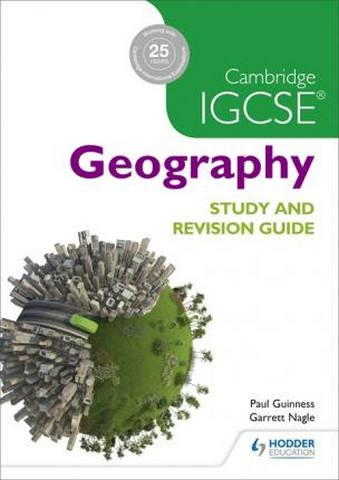 Cambridge IGCSE Geography Study and Revision Guide - David Watson