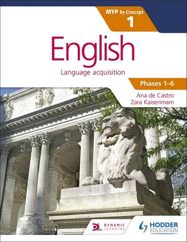 English for the IB MYP 1 - Ana de Castro