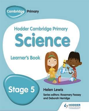 Hodder Cambridge Primary Science Learner's Book 5 - Helen Lewis