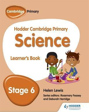 Hodder Cambridge Primary Science Learner's book 6 - Peter Riley