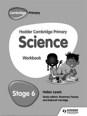 Hodder Cambridge Primary Science Workbook 6 - Peter Riley