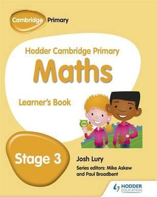 Hodder Cambridge Primary Maths Learner's Book 3 - Josh Lury