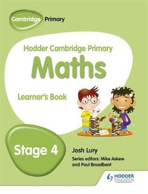 Hodder Cambridge Primary Maths Learner's Book 4 - Josh Lury