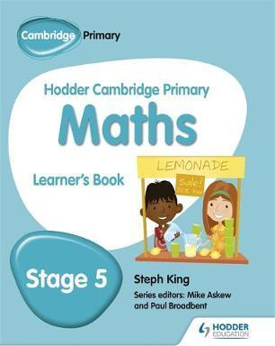 Hodder Cambridge Primary Maths Learner's Book 5 - Steph King