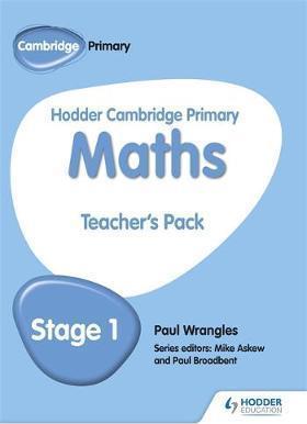 Hodder Cambridge Primary Maths Teacher's Pack 1 - Paul Wrangles