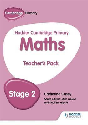 Hodder Cambridge Primary Maths Teacher's Pack 2 - Sarah-Anne Fernandes