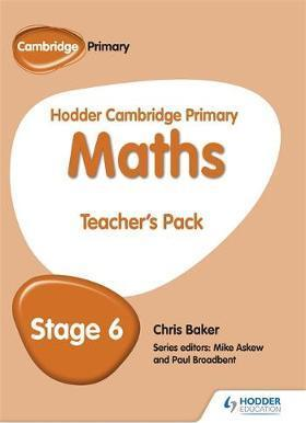 Hodder Cambridge Primary Maths Teacher's Pack 6 - Mike Askew