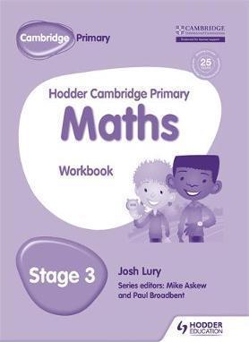 Hodder Cambridge Primary Maths Workbook 3 - Josh Lury