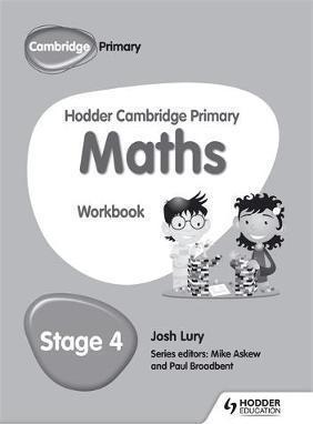 Hodder Cambridge Primary Maths Workbook 4 - Josh Lury