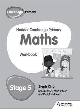 Hodder Cambridge Primary Maths Workbook 5 - Steph King