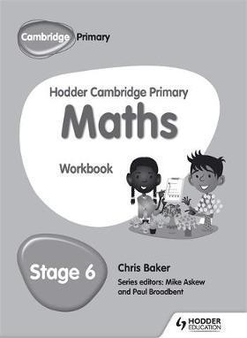 Hodder Cambridge Primary Maths Workbook 6 - Chris Baker