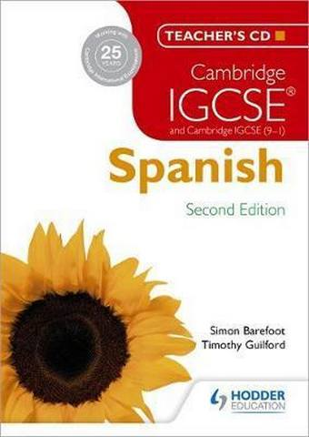 Cambridge IGCSE (R) Spanish Teacher's CD-ROM Second Edition - Simon Barefoot