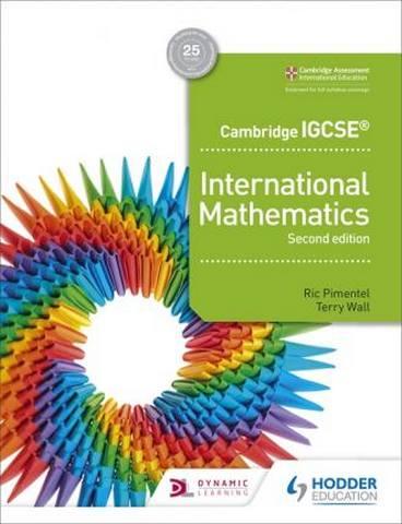 Cambridge IGCSE International Mathematics 2nd edition - Ric Pimentel