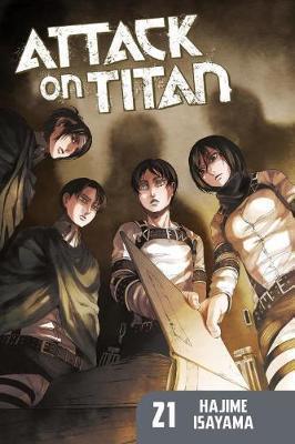 Attack On Titan 21 - Hajime Isayama
