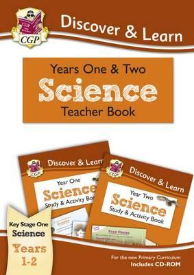 KS1 Discover & Learn: Science - Teacher Book for Year 1 & 2 - CGP Books