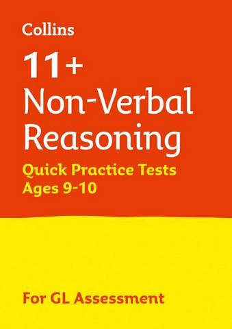 11+ Non-Verbal Reasoning Quick Practice Tests Age 9-10 for the GL Assessment tests (Letts 11+ Success) - Letts 11+