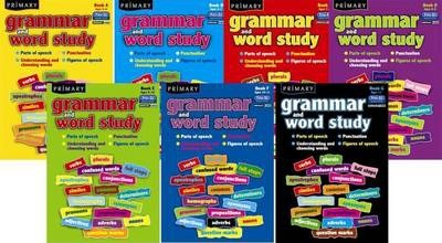 Primary Grammar and Word Study: Parts of Speech