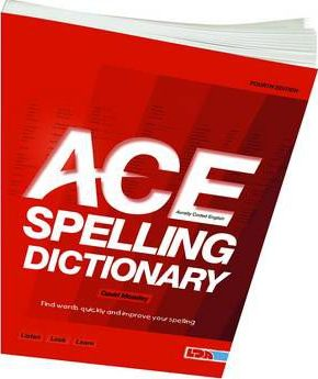 ACE Spelling Dictionary - David Moseley