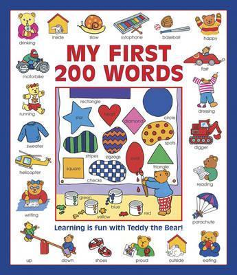 My First 200 Words (giant Size) - Nicola Baxter