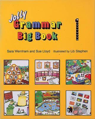 Grammar Big Book 1: In Precursive Letters - Sara Wernham