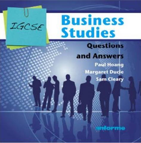 IGCSE Business Studies Questions and Answers - Paul Hoang