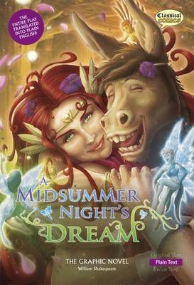 A Midsummer Night's Dream the Graphic Novel: Plain Text - William Shakespeare