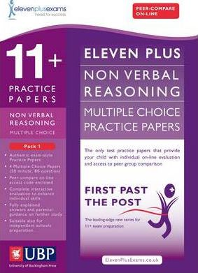 11+ Non-Verbal Multiple Choice Practice Papers: Pack 1 - Eleven Plus Exams