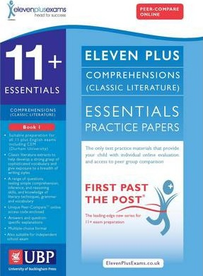 11+ Essentials Comprehensions for CEM: Book 1 - ElevenPlusExams